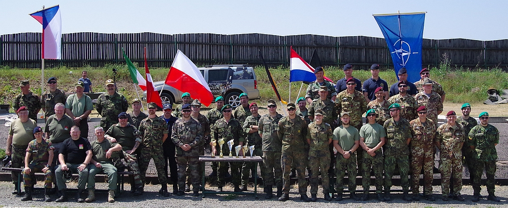 1st International Reservist Shooting Tournament At Czech Republic 13.06.15